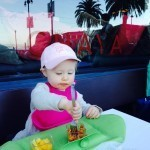 Toddler Travel Must-Haves - Roll-up Bib & Placemat with Lip