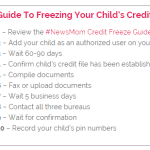 Child Credit Freezes Now Available Nationwide