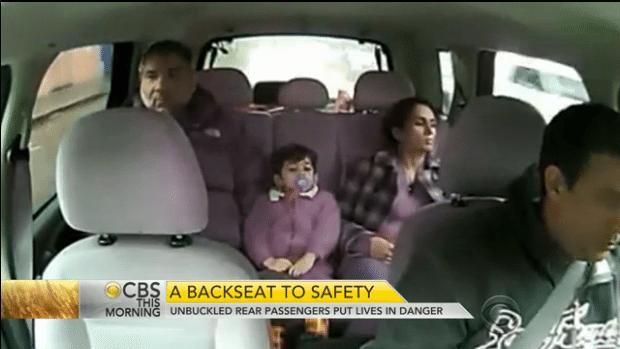 Back Seat Seatbelts