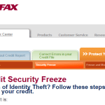 Equifax Child Credit Freeze Summary