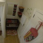 Apartment Life Small-Space Hallway Nursery - NewsMom VineDeas NewsMom.Com