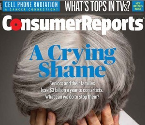 Consumer Reports Mag Cover