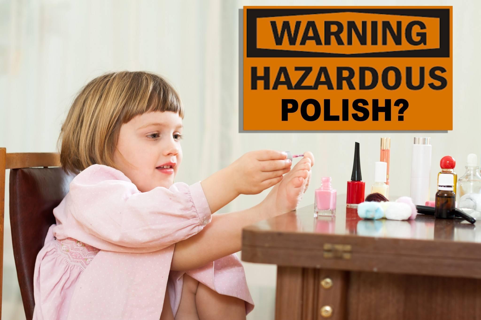 Nail Polish Chemicals & Kids - WARNING!
