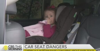 Popular Car Seats Found To Contain Concerning Flame Retardant • CBS News
