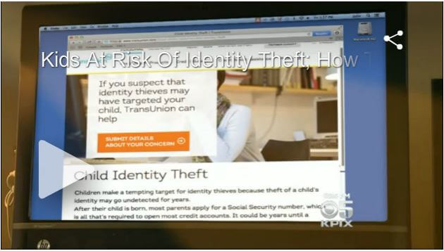 How To Protect Kids From ID Theft