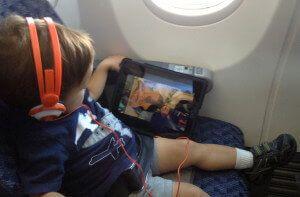 Baby travel gear headphones