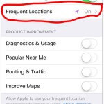 iPhone Frequent Locations track your every move... #NewsMom News