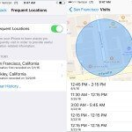 Frequent Locations - Your iPhone Is Documenting Your Every Move