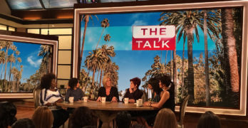 Ladies of <i>The Talk</i> on CBS Talk Flame Retardants in Car Seats