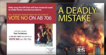 Consumer Federation on DOT Response to Chemicals in Car Seats • CBS San Francisco