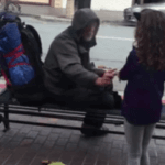 UPDATE: Girl Who Fed Homeless Vet in Viral Video Needs Your Help!