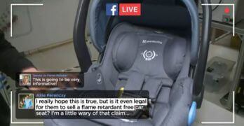 Investigating UPPAbaby Flame-Retardant-Free Car Seats
